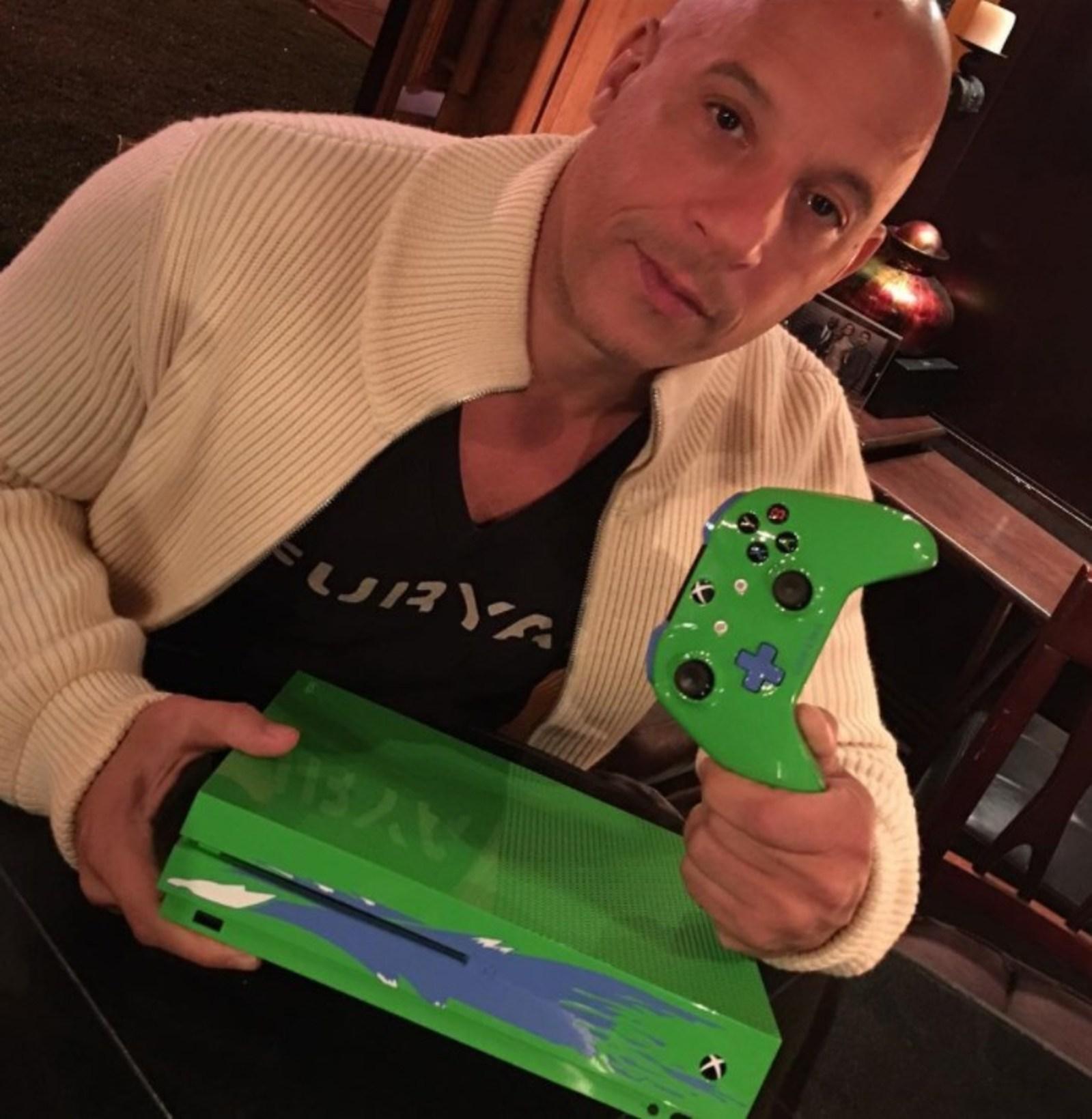 Xbox crea la consola Xbox One S inspirada en Paul Walker — VENEZUELA