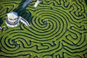 Longleat Hedge Maze, de Inglaterra