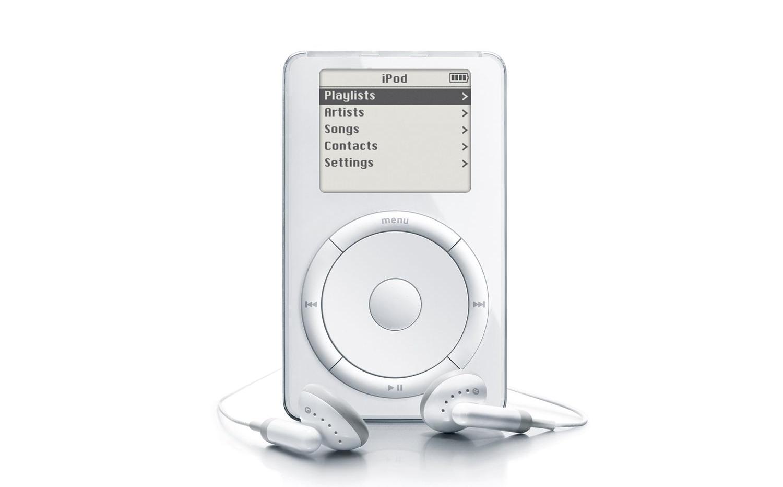 hace 16 a os apple revolucionaba la m sica con el primer ipod. Black Bedroom Furniture Sets. Home Design Ideas